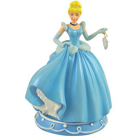 Cinderella with Glass Slipper Statue