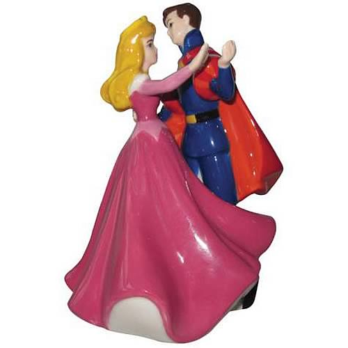 Sleeping Beauty Aurora & Phillip Salt and Pepper Shaker Set