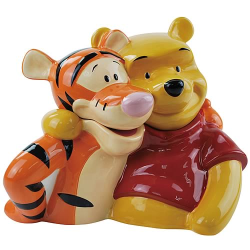 Winnie The Pooh Tigger and Pooh Cookie Jar