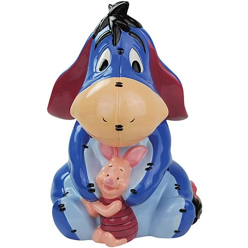 Winnie The Pooh Piglet and Eeyore Cookie Jar