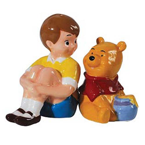 Winnie the Pooh Christopher and Pooh Salt and Pepper Shakers