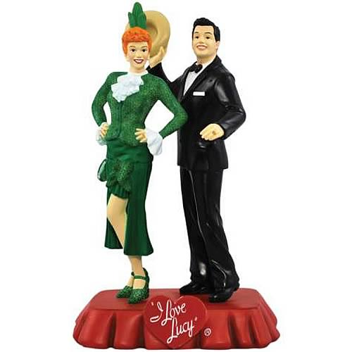 I Love Lucy Sally Sweet and Cuban Pete Mini Statue Sculpture