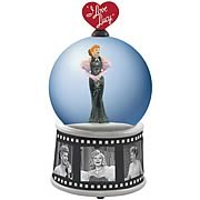 I Love Lucy Glamorous Lucy Water Globe