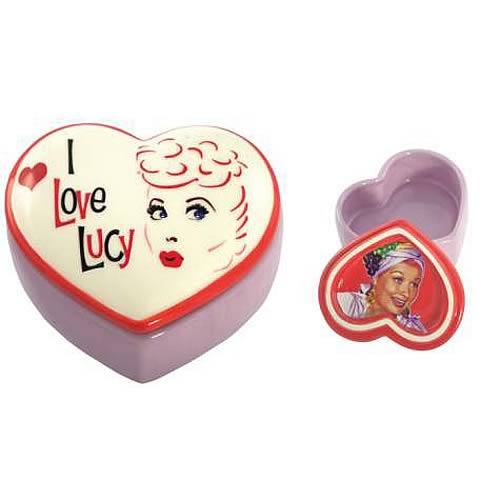 I Love Lucy Lucy's Rumba Heart Trinket Box