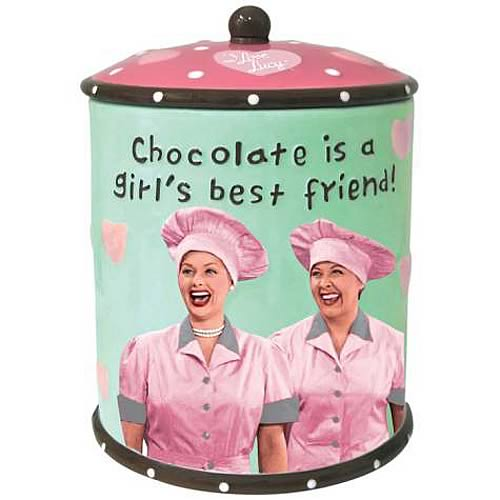 I Love Lucy Chocolate Factory Cookie Jar