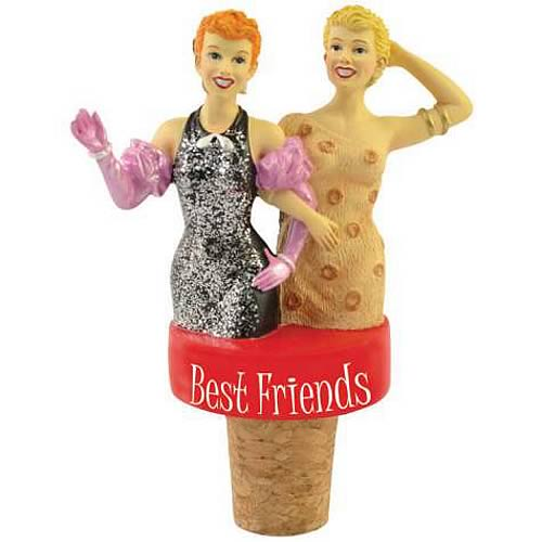 I Love Lucy Best Friends Wine Stopper
