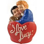 I Love Lucy Ricky and Lucy Cookie Jar