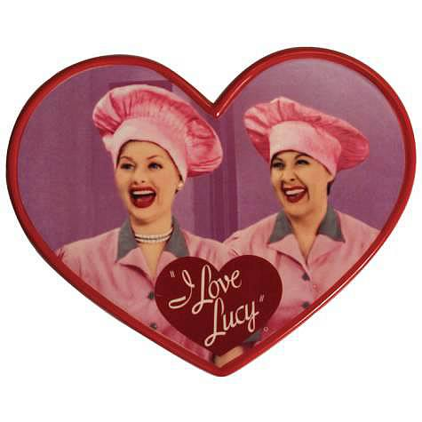 I Love Lucy Chocolate Factory Ceramic Photo Plaque