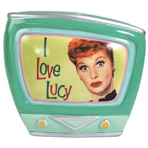 i love lucy retro television bank best action figures toys bobble heads store from. Black Bedroom Furniture Sets. Home Design Ideas
