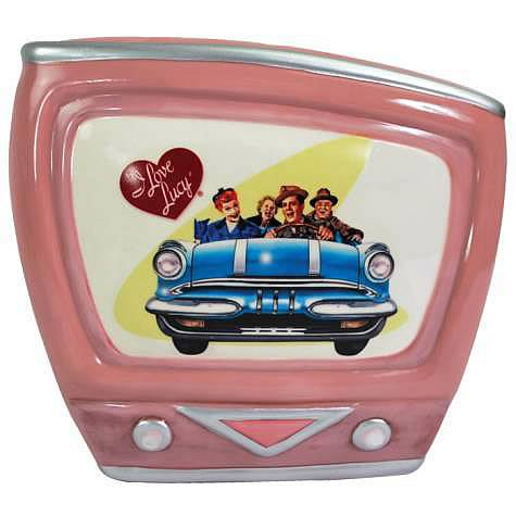 i love lucy road trip retro television bank westland giftware i love lucy banks at. Black Bedroom Furniture Sets. Home Design Ideas