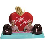 I Love Lucy Factory Shakers and Toothpick Holder Set