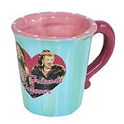 I Love Lucy Best Friends Forever Mug