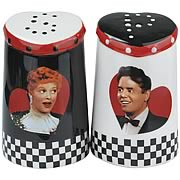 I Love Lucy Lucy Loves Ricky Salt and Pepper Shakers