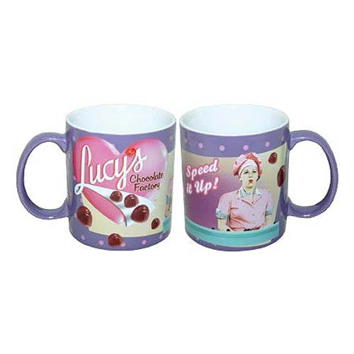 I Love Lucy Speed It Up 14 oz. Mug