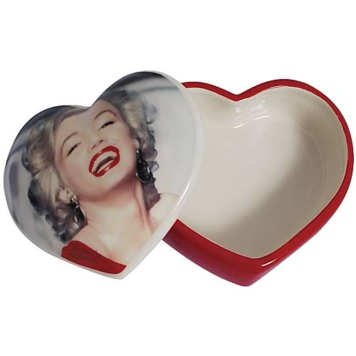 Marilyn Monroe Red Dress Trinket Box