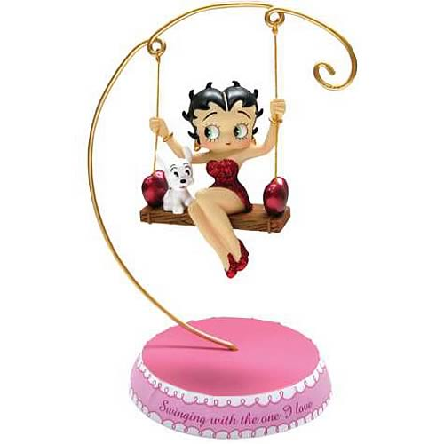 Betty Boop Love Swing Statue