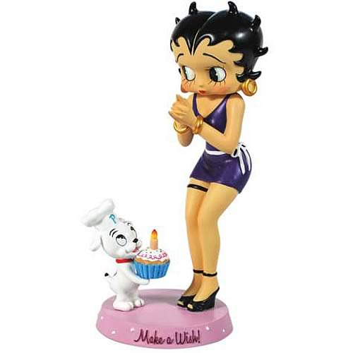Betty Boop Make a Wish Betty Statue