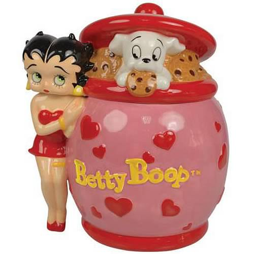 Betty Boop Heart Deco Cookie Jar