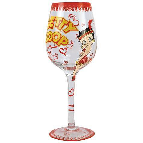 Betty Boop Flapper Betty Wine Glass