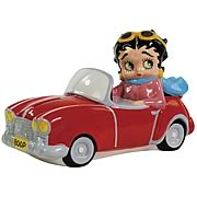Betty Boop in Convertible Bank