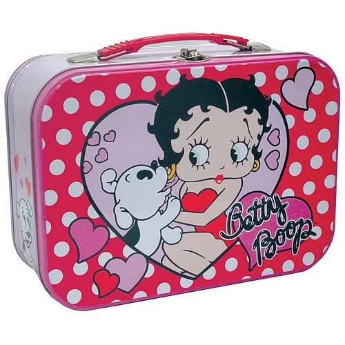Betty Boop Polka Dots Tin Tote