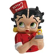 Betty Boop Diner Cookie Jar