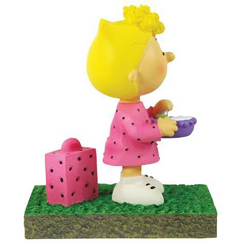 Peanuts Sally Bus Stop Mini-Statue