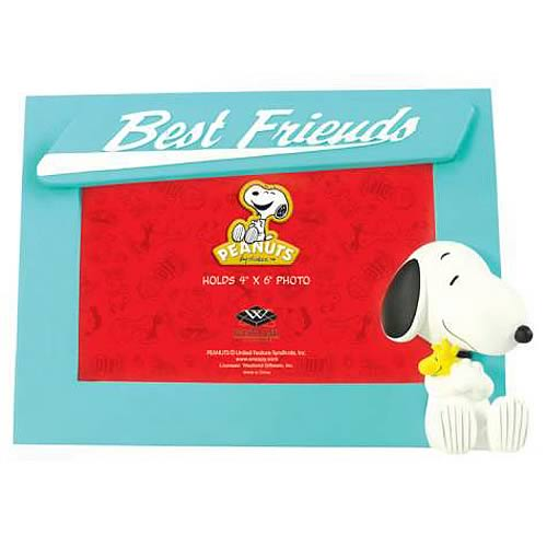 Peanuts Snoopy and Woodstock Best Friends Picture Frame
