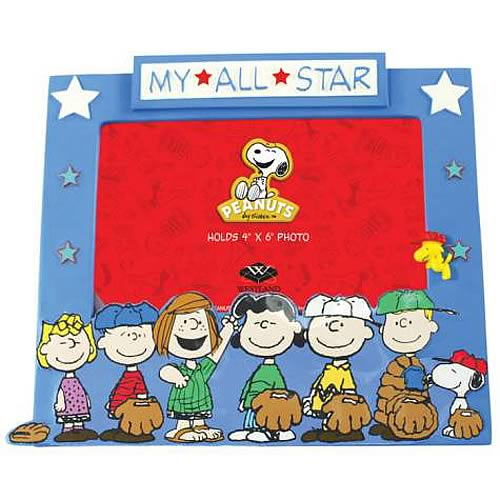 Peanuts My All-Star Picture Frame