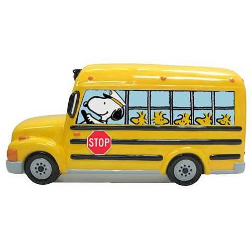 Peanuts School Bus Bank