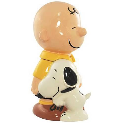 Peanuts Charlie Brown and Snoopy Cookie Jar