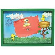 Peanuts Woodstock To Their Own Beat Shadowbox Picture Frame