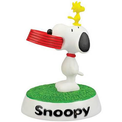 Peanuts Snoopy and Woodstock Mini-Statue