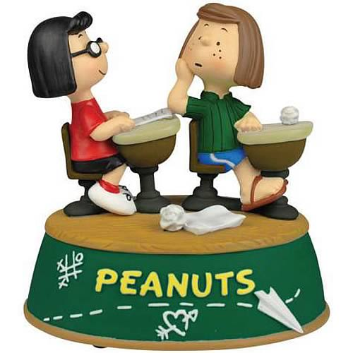 Peanuts Peppermint Patty & Marcy School Days Mini-Statue