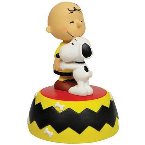 Peanuts Charlie Brown and Snoopy Friends Forever Statue