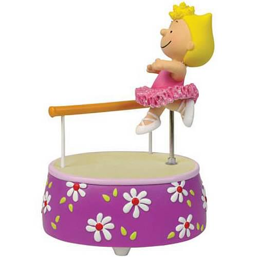 Peanuts Sally Ballerina Animated Statue