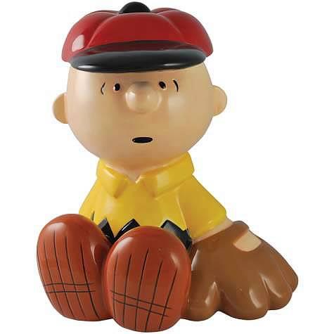 Peanuts Charlie Brown Baseball Bank