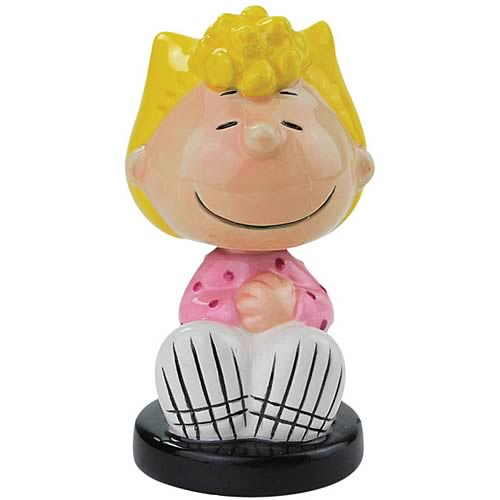 Peanuts Sally Mini Bobble Head