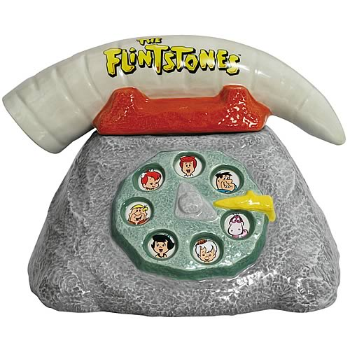 Flintstones Telephone Cookie Jar