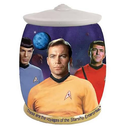 Star Trek These Are The Voyages Cookie Jar