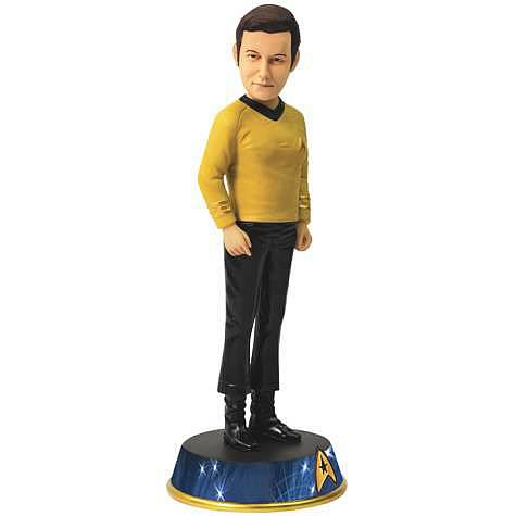 Star Trek Captain Kirk Bobble Statue