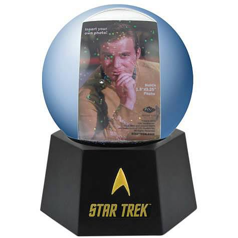 Star Trek Photo Water Globe