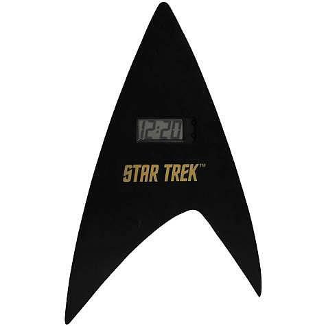 Star Trek Delta Shield Digital Wall Clock