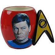 Star Trek Dr. McCoy Delta Shield Mug