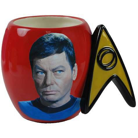 Star Trek Dr. McCoy Delta Shield Mug