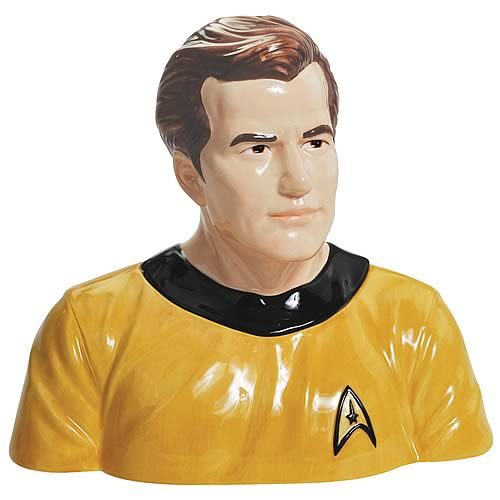 Star Trek Original Series Captain Kirk Cookie Jar