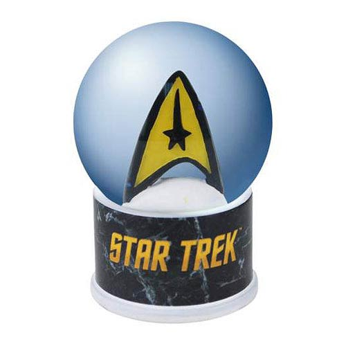 Star Trek Original Series Command Insignia Water Globe