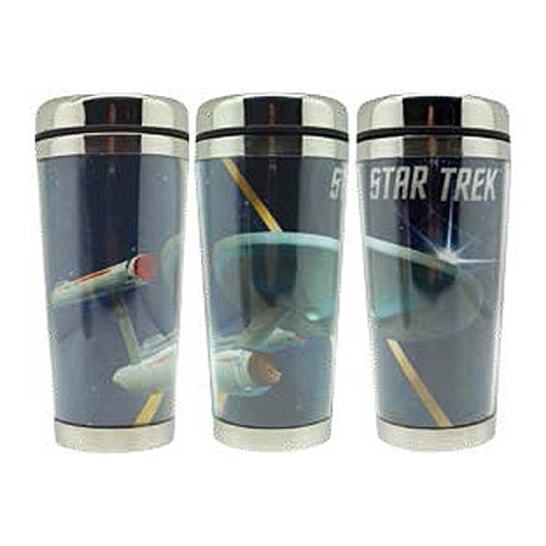 Star Trek Enterprise 16 oz. Acrylic Travel Mug
