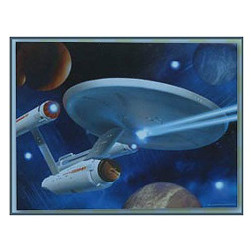 Star Trek Enterprise Light-Up Canvas Print