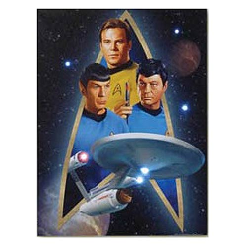 Star Trek Starfleet Light-Up Canvas Print